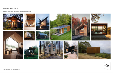 Concept pictures Copper Camp tiny homes