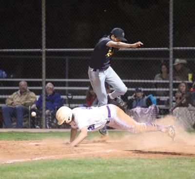 Baseball V Blue Ridge Home Plate Collision