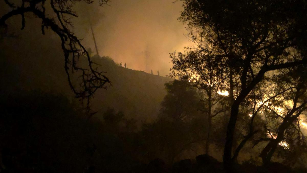 Is Gila County prepared for a large-scale evacuation due to wildfire?