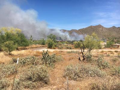 East Desert Fire