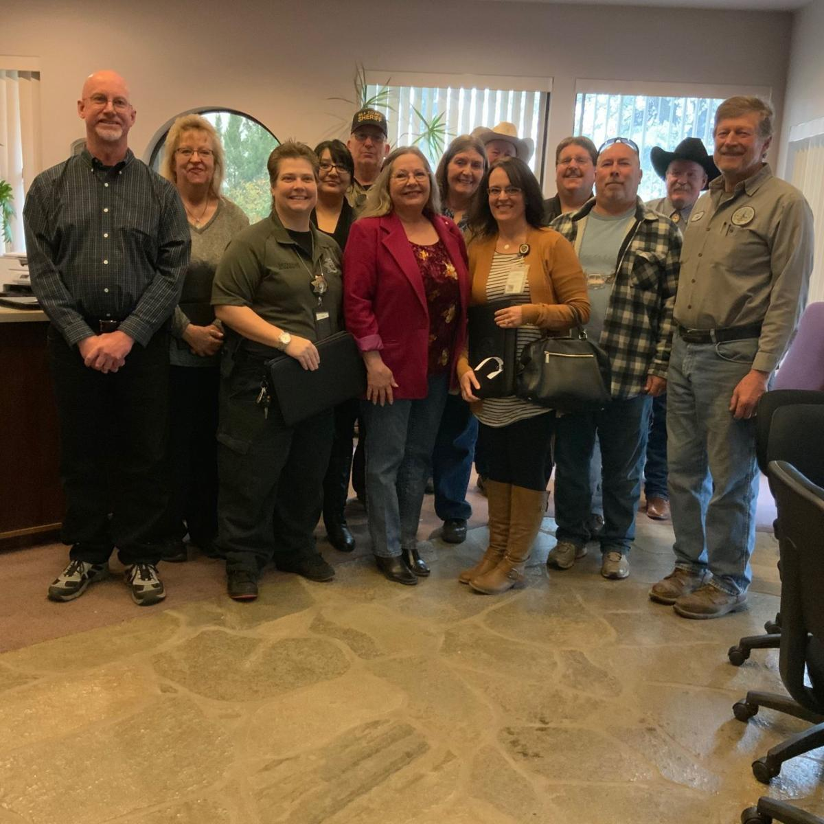 Payson staff honored