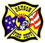 Payson Fire Department patch logo