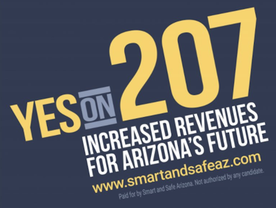 Yes on Prop 207 graphic