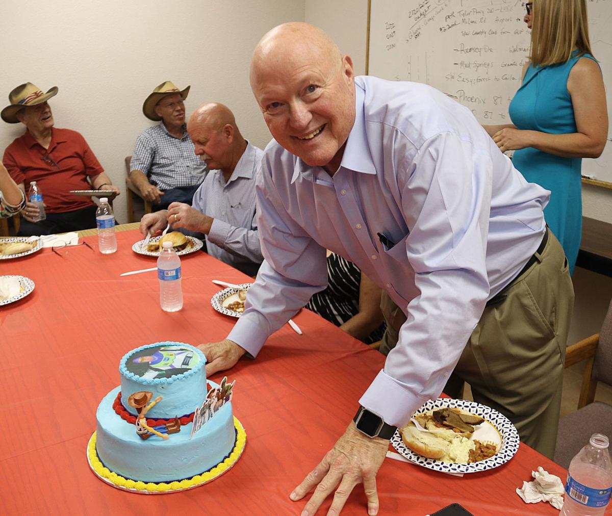 Bobby Davis lightyear cake