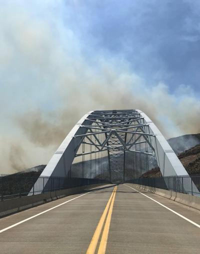 Woodbury Fire, Roosevelt Bridge