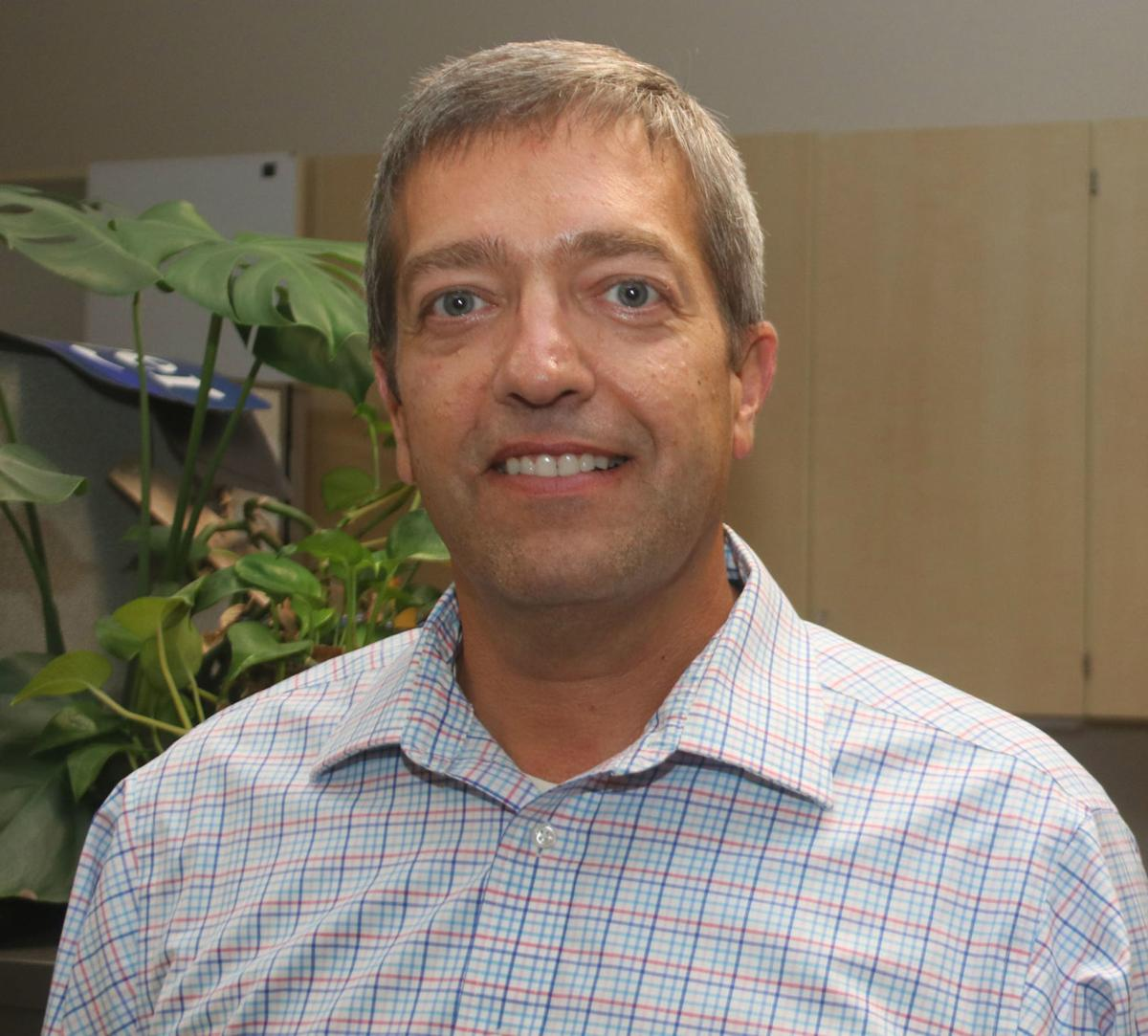 Payson Police Chief Ron Tischer head shot smile