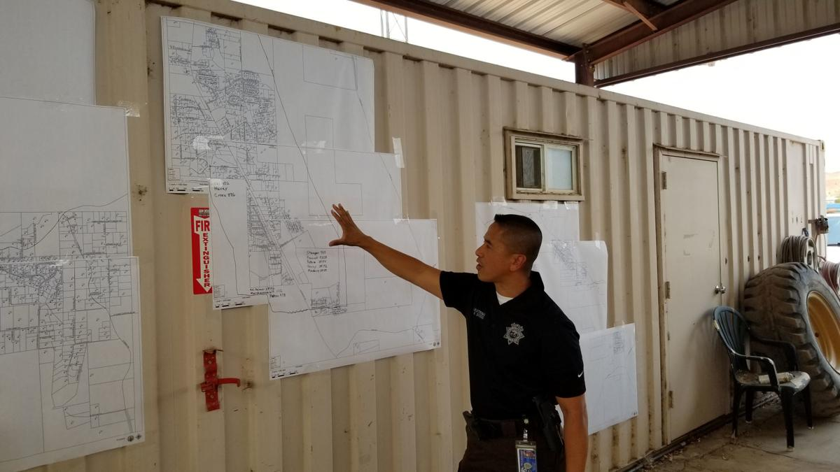 Lt. Virgil Dodd With Map