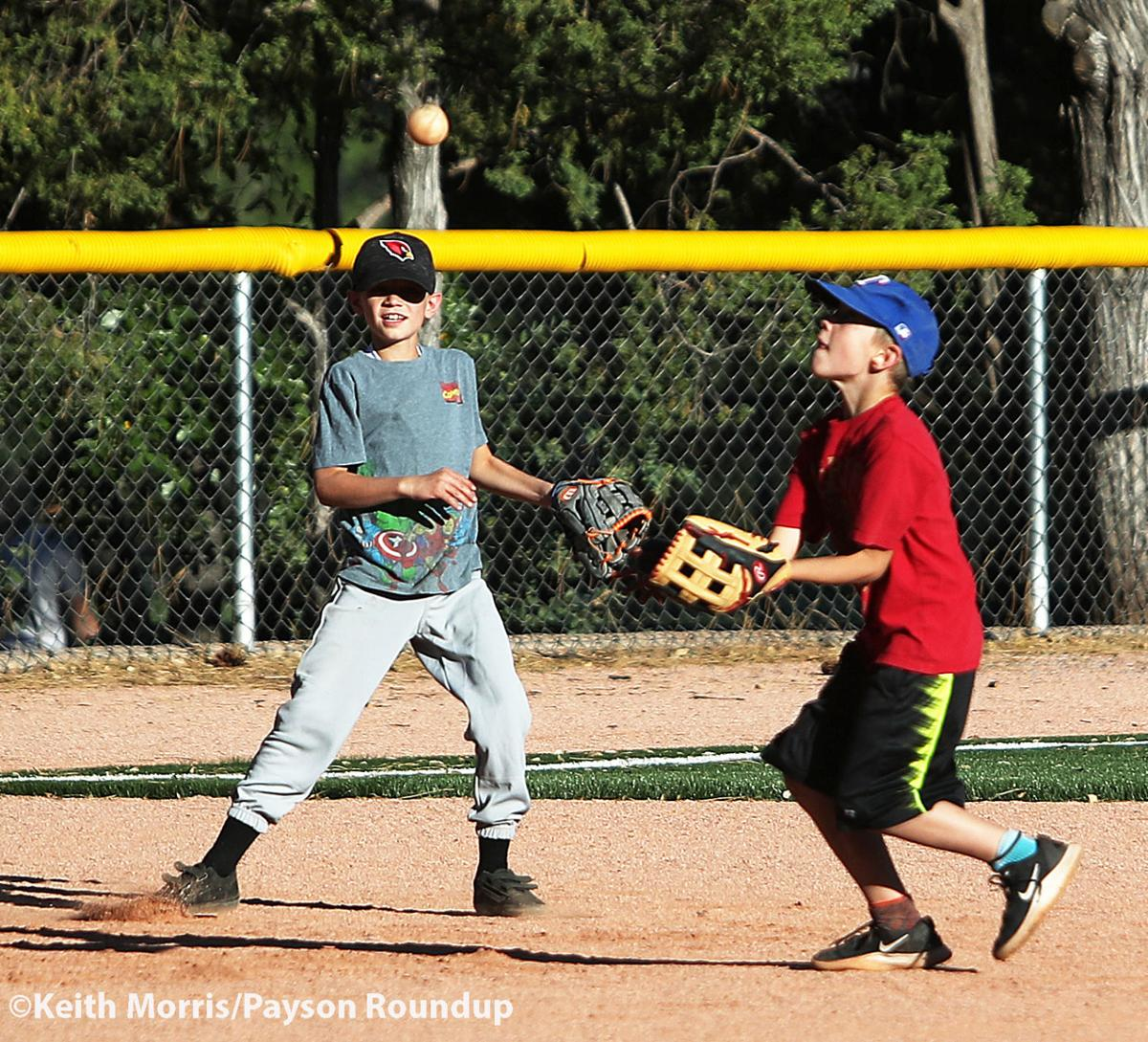 Little League practice by Keith Pop Up 5-19-20 w
