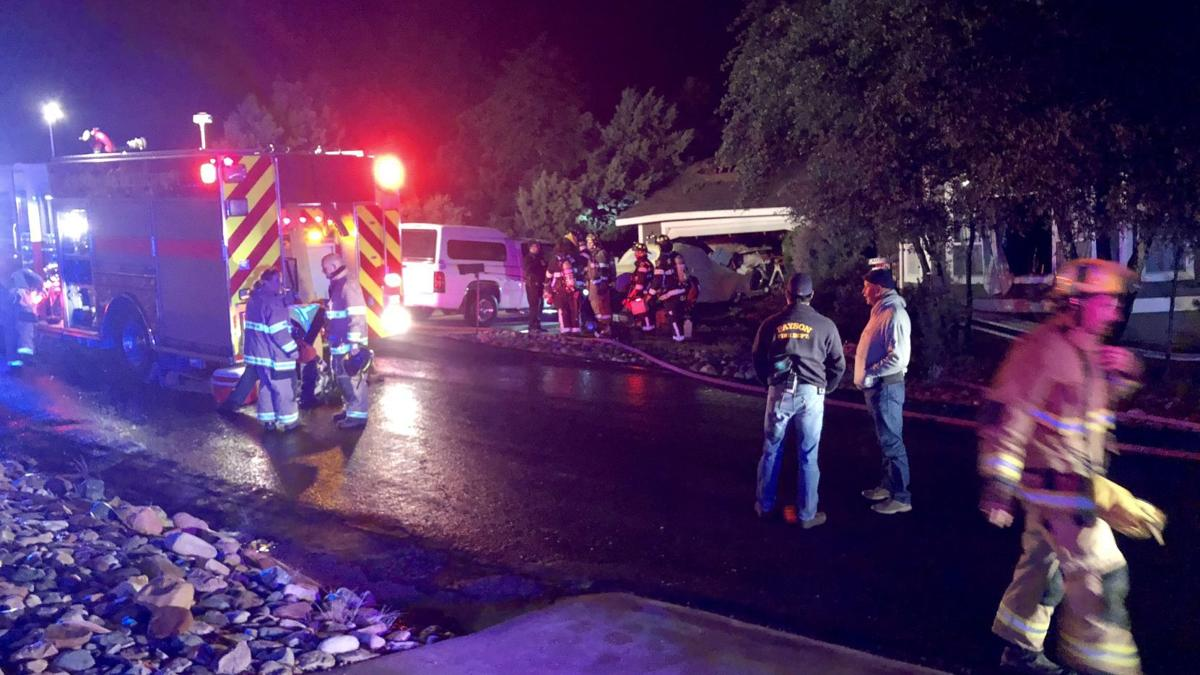 Plane crash kills two after it crashes into Payson home