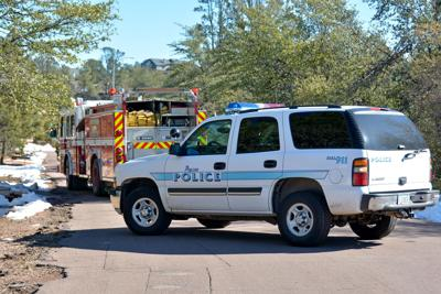 Payson police vehicle