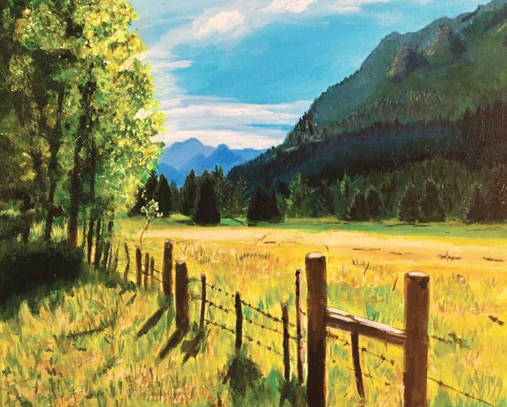 Julie Wittwer painting