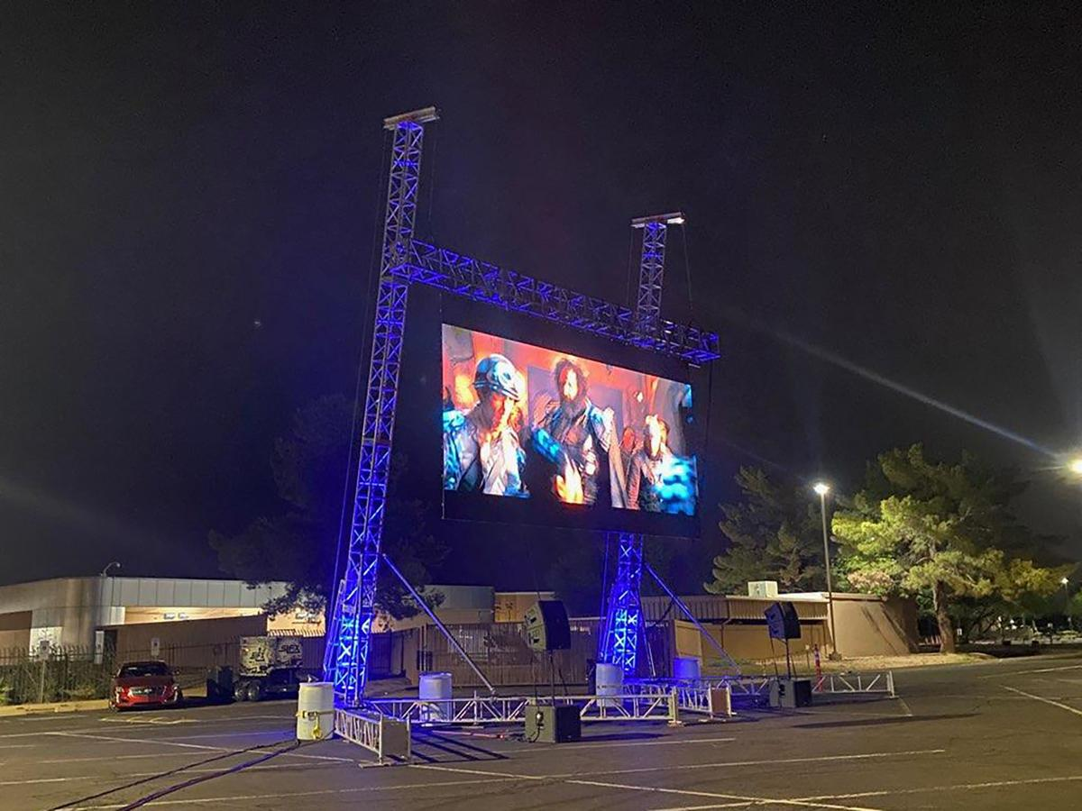 Pop Up Drive In Submitted Movie On Screen