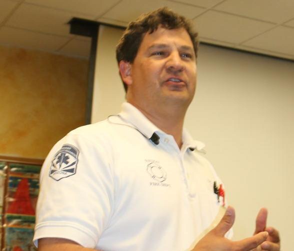 Payson Fire Chief David Staub