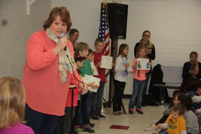 PES honor roll awards ceremony