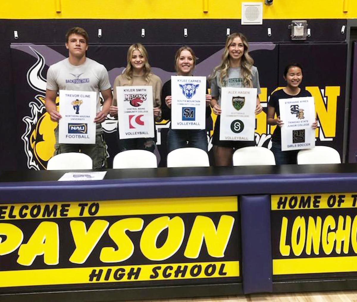 PHS College-Bound Athletes by Rich Ormand