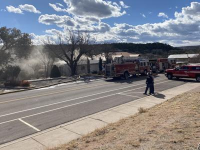 Fire at 707 W Main 2.16.21 #1