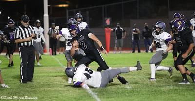 Football v Arizona College Prep Trevor Cline TD w800pix