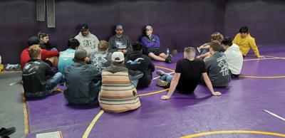 Wrestling Team Meeting 1-8-21