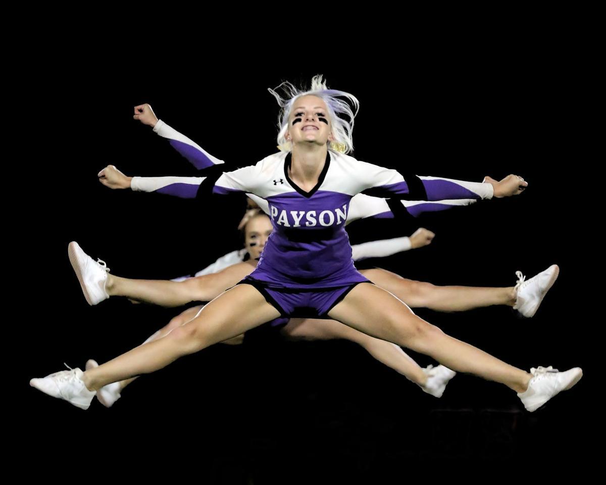 Hannah Selig cheerleading