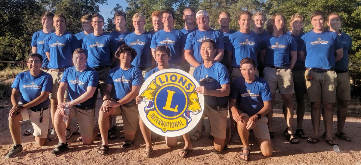 Payson Lions Club hosts Pi Kappa Phi bicyclists