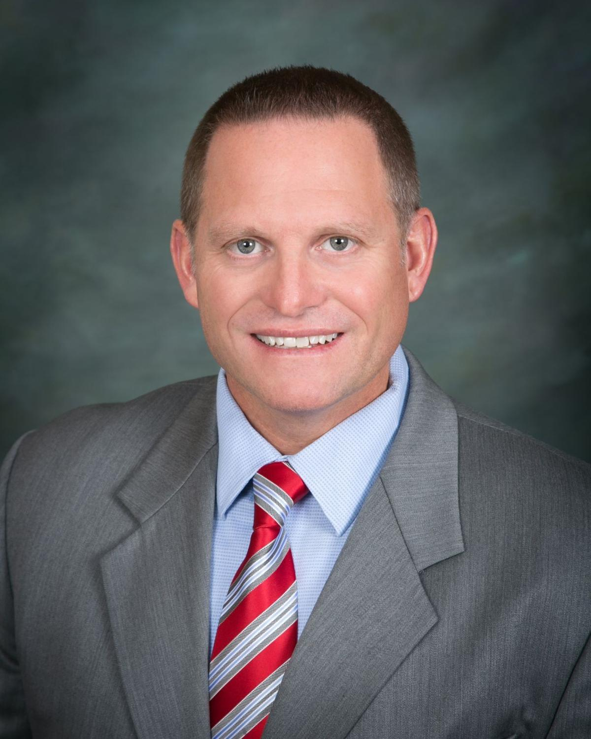 Troy Smith Payson town manager professional head shot