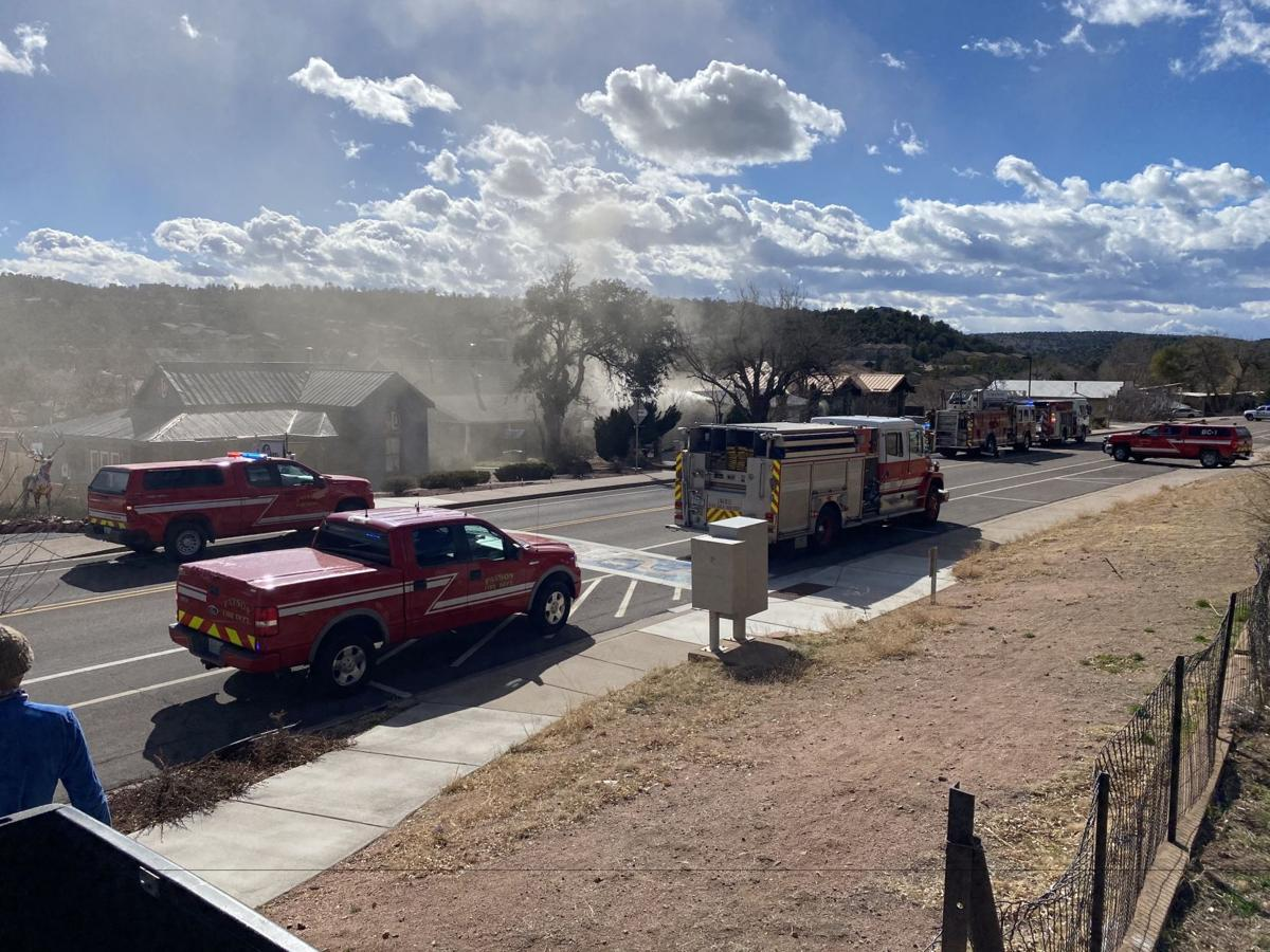 Fire at 707 W Main 2.16.21 #2