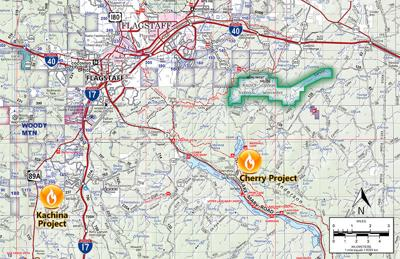 Prescribed burn projects south of Flagstaff June 11 and 13