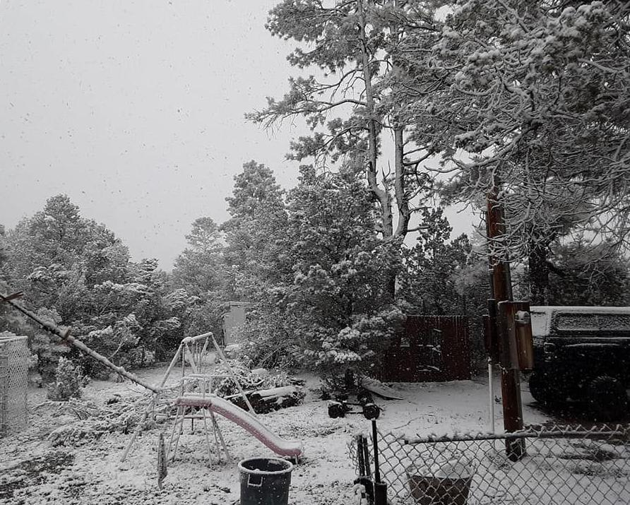 Holly White snow in Heber May 20.jpg
