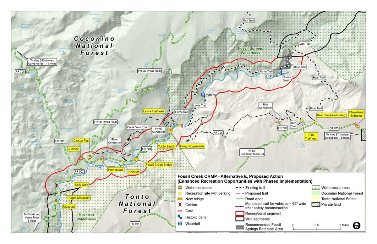Forest Service \'preferred\' plan would double Fossil Creek ...