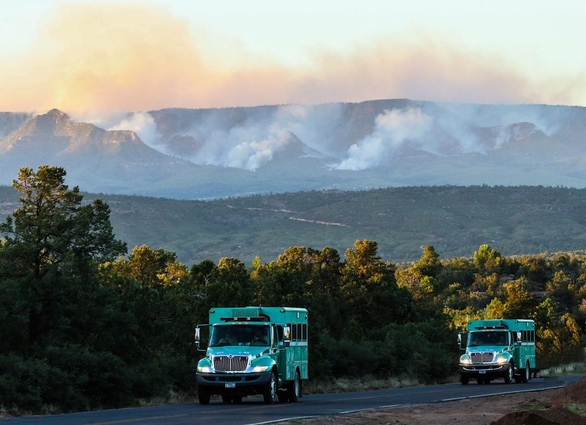 Firefighters Struggle To Contain Highline Fire Before A