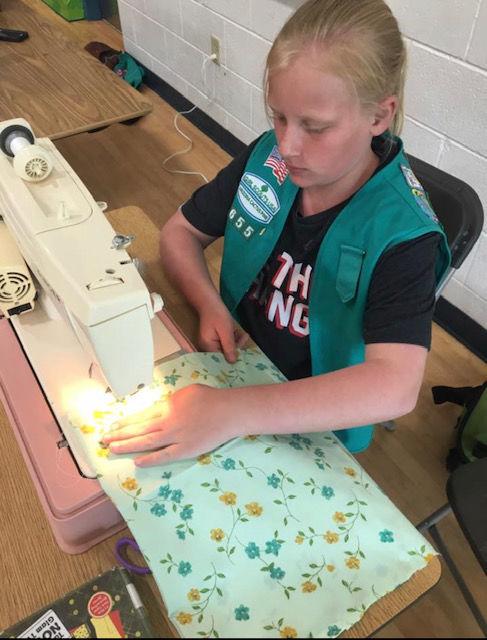 girl scout reusable bags