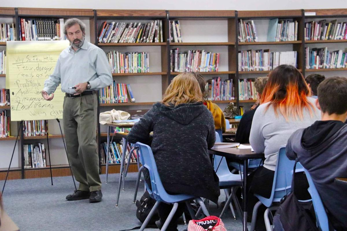 Marty Brounstein follows up in the classroom