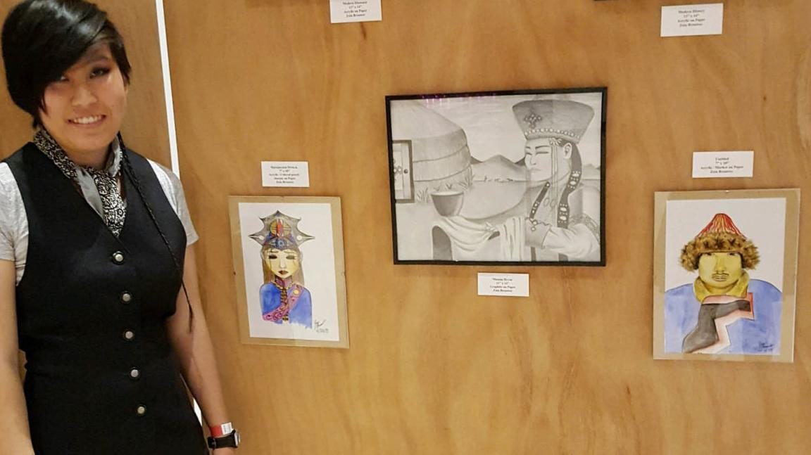 Payson graduate launching into the art world