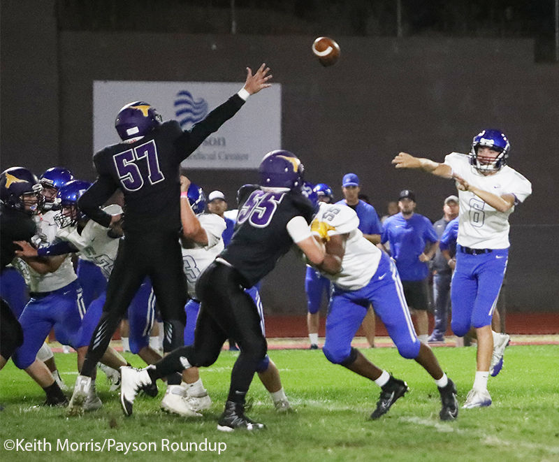 Football v Fountain Hills Will Howell Leap