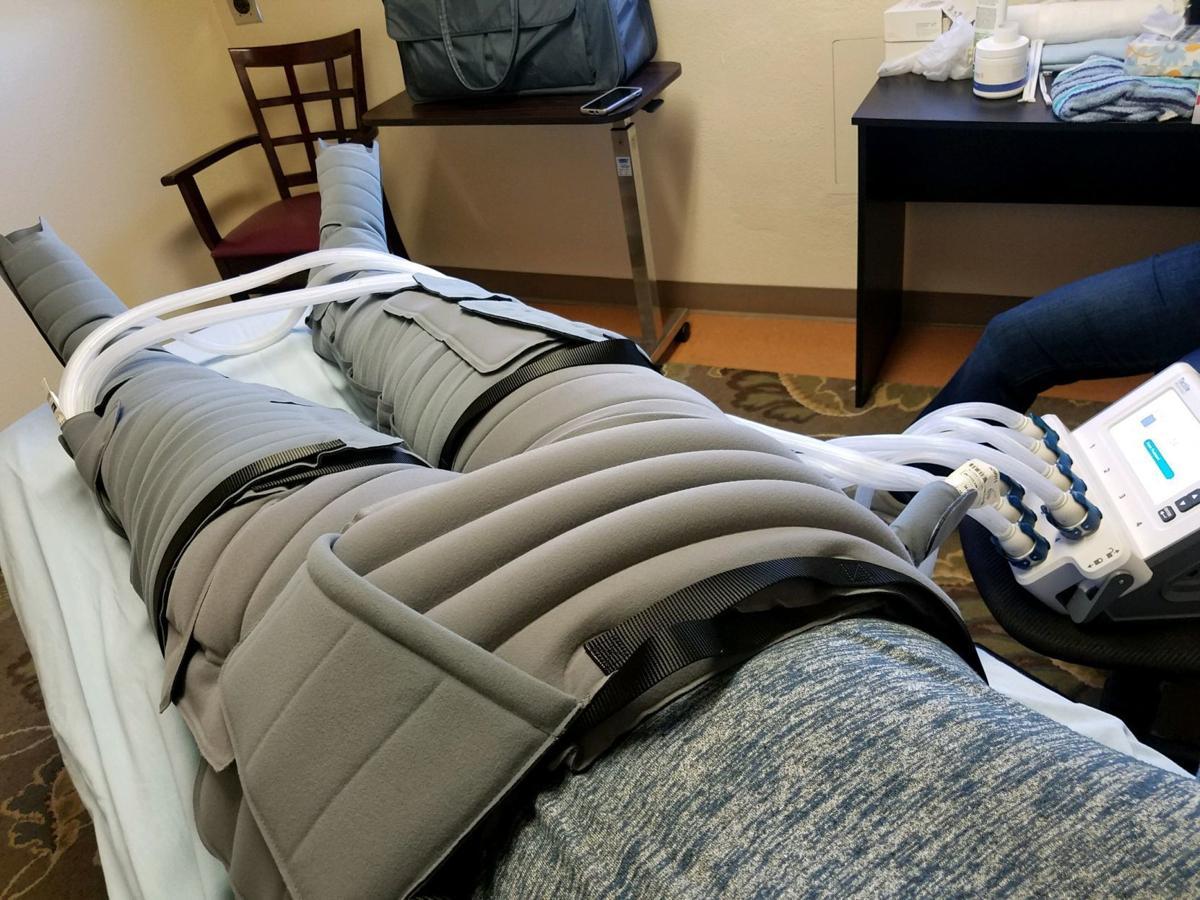 Body compression suit