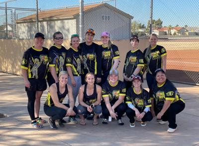 Women Win Softball Tourney-contributed