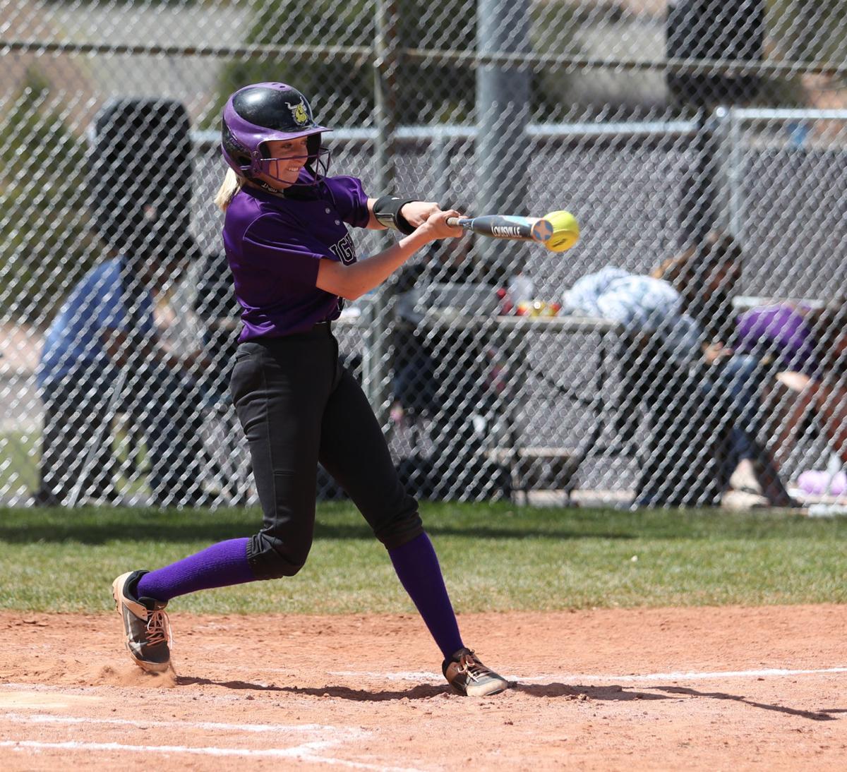 Softball Rebekah Rice Connects