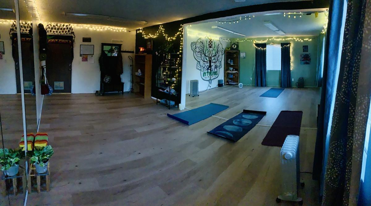 Yoga in the Pines Studio Interior-contributed photo