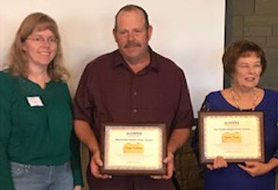 Two Rim residents recognized for cleaning up creeks