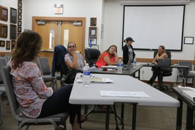 Socially distanced school board