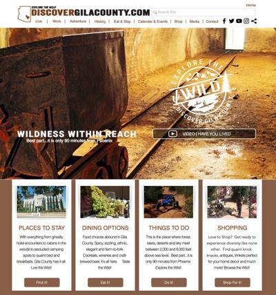 Discover Gila County website
