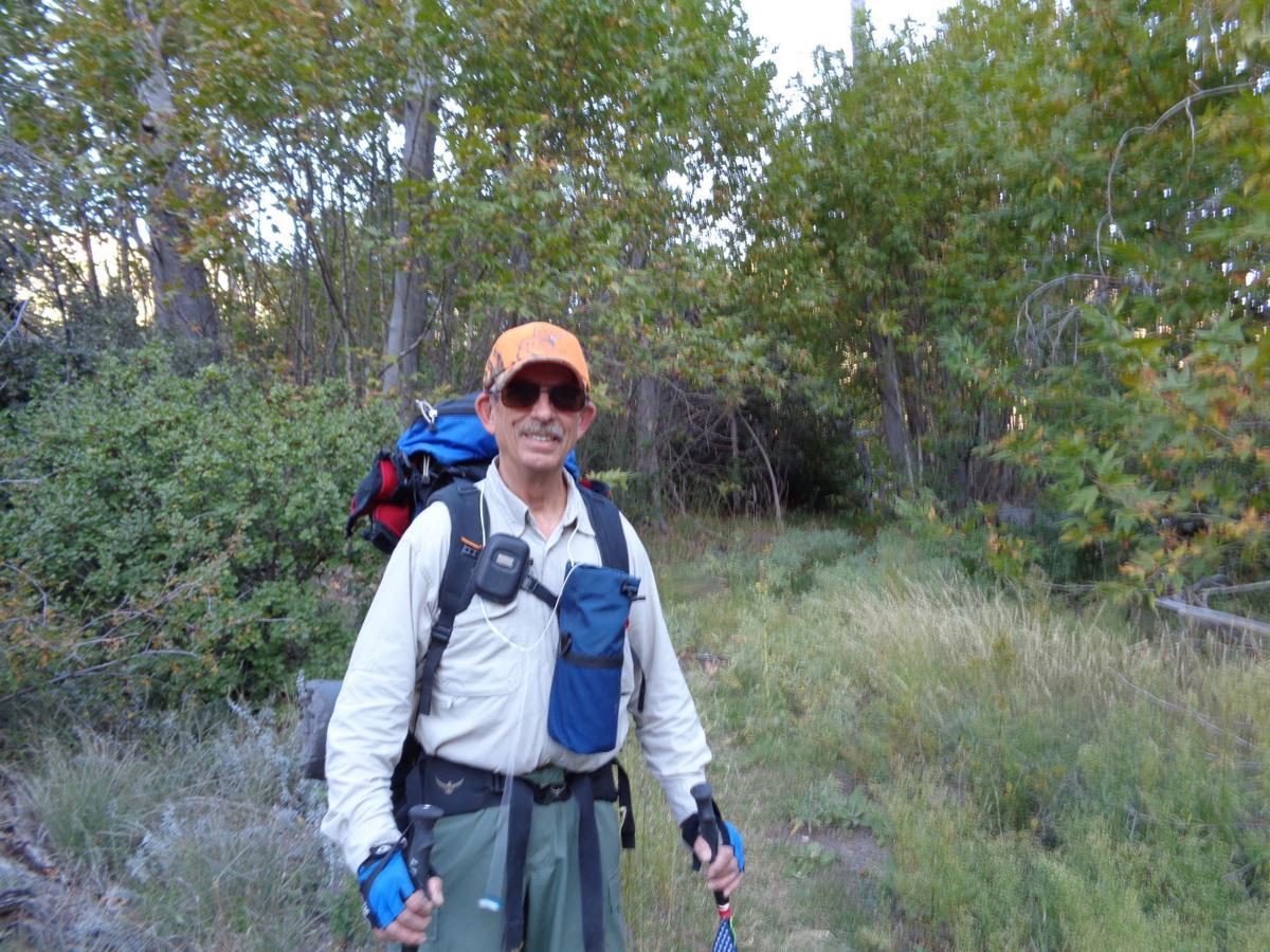 Gary Morris on trail