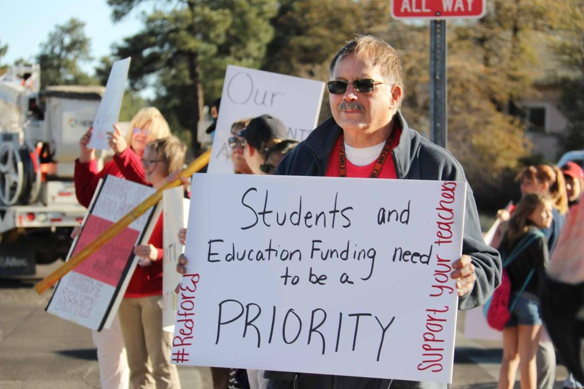 Red for Ed Rallies continue in Payson and State