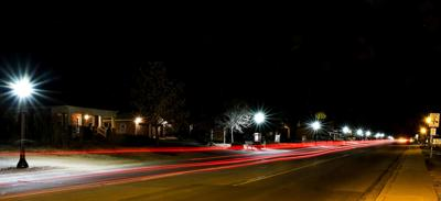 Main Street lights