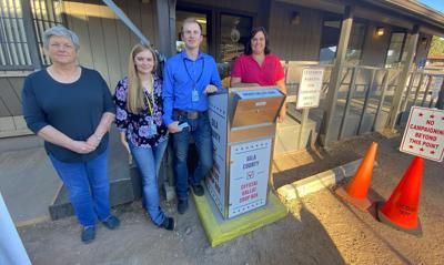Sadie Jo Bingham and her staff at the Payson Recorder's Office