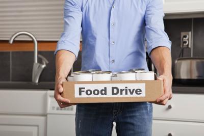 Food drive food bank