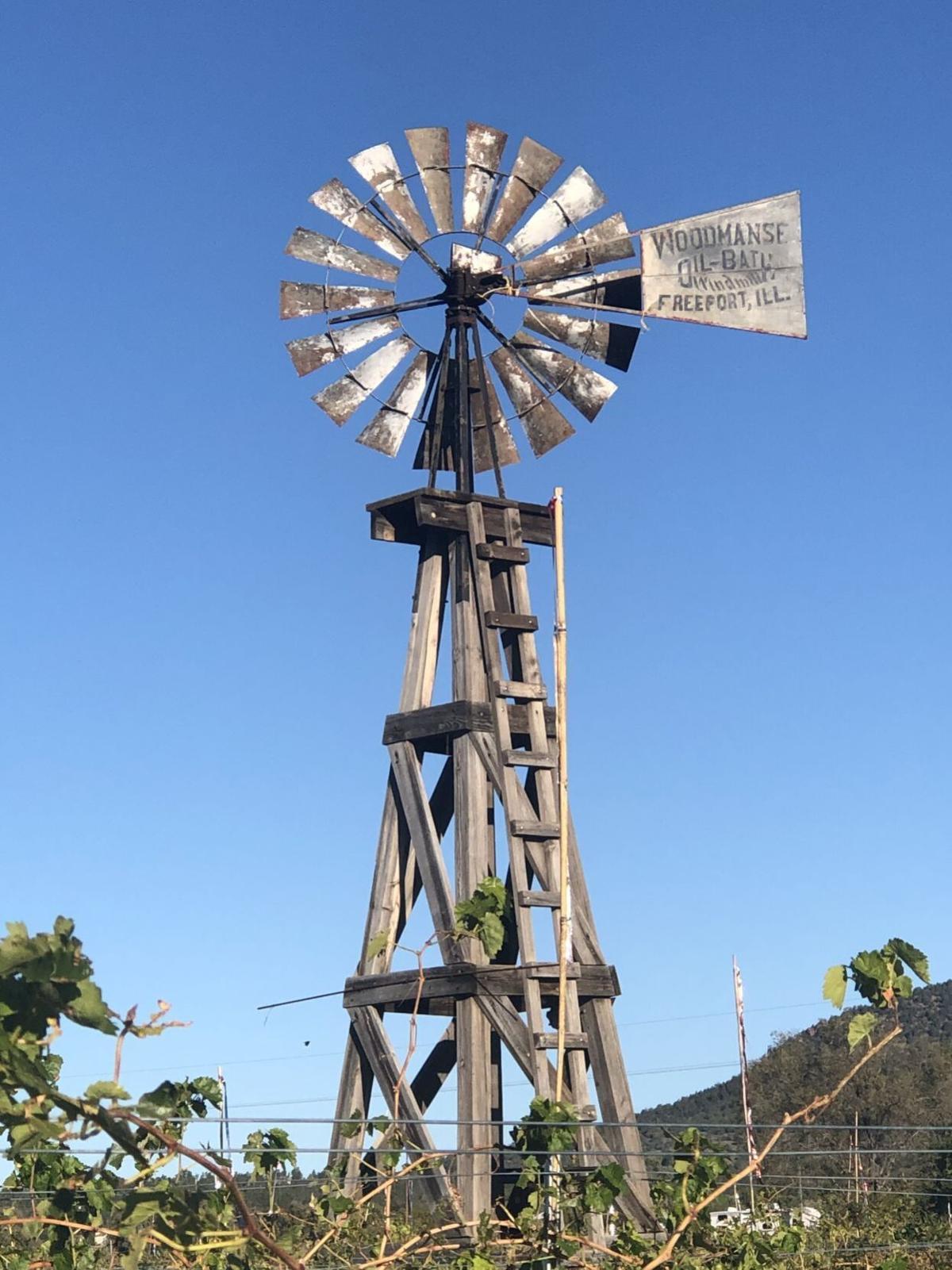 Bruzzi Vineyard Windmill by Alexis