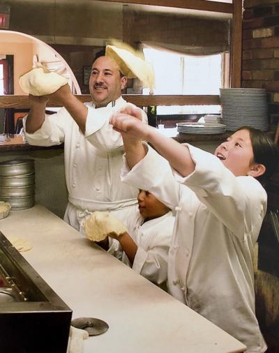 Gerardo in the kitchen