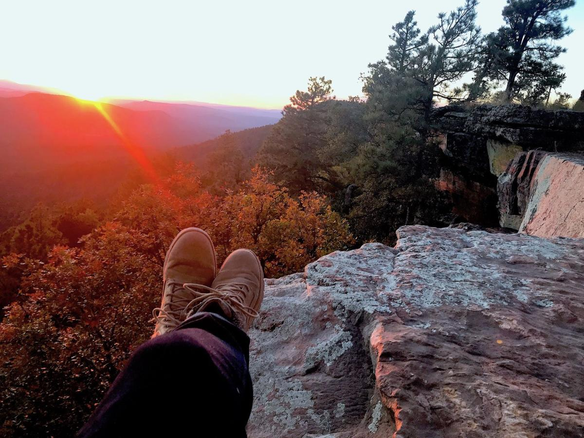 Hiking boots Rim shot