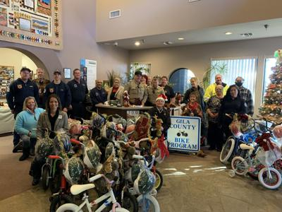 county bikes for christmas